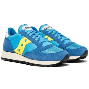 Saucony Blue Jazz Low Pro Sneakers